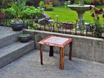 Photo: Simple Plans To Build Your Own Tile Top Table, Based Around A 16.  Tile Top TablesPatio TablesCeramic ...