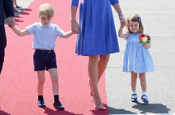 George e Charlotte (Foto: Getty Images)
