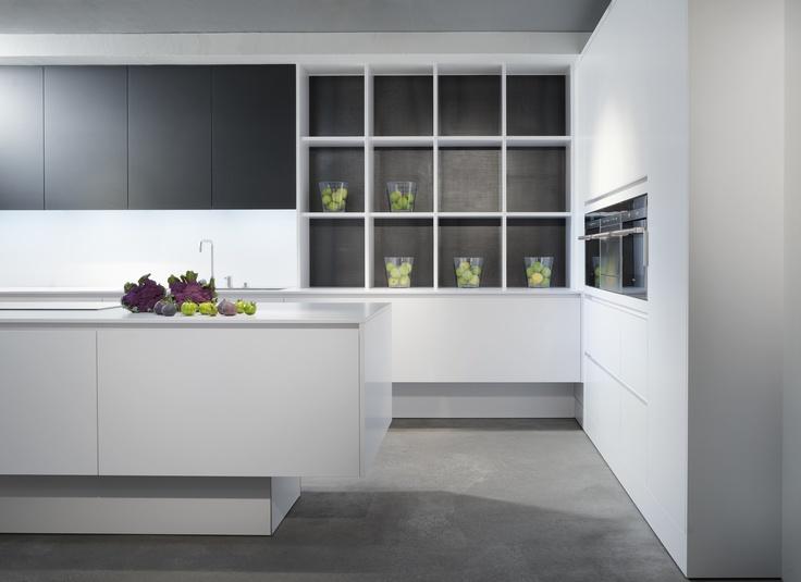 eggersmann modern laminate pure white detail.