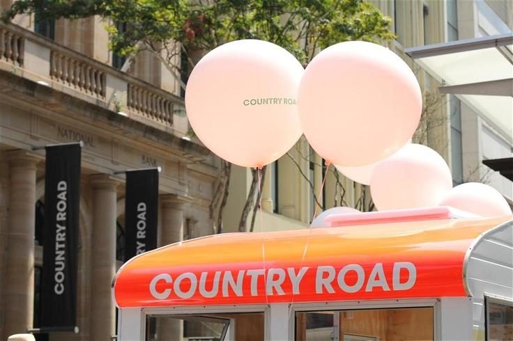 The Country Road CARAVAN final stop: Brisbane, Queensland