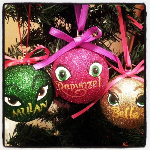 Hey, I found this really awesome Etsy listing at https://www.etsy.com/listing/172175451/disney-princess-christmas-ornament