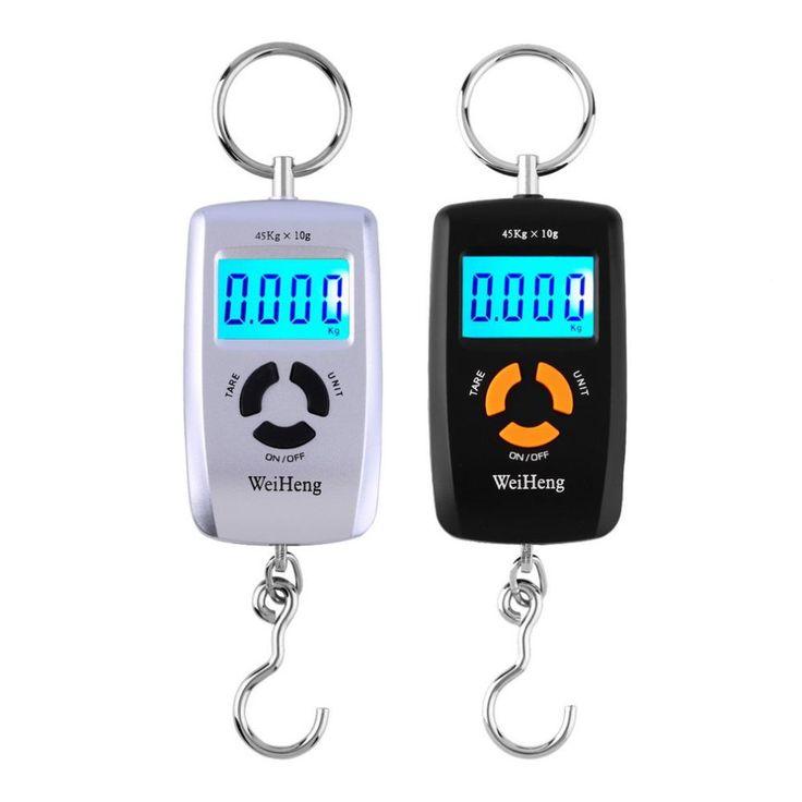 Portable Digital Electronic Scale Pocket Luggage Hanging Fishing Hook Balance Scale Electronic lb oz kg