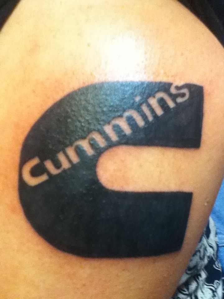 Cummins tattoo