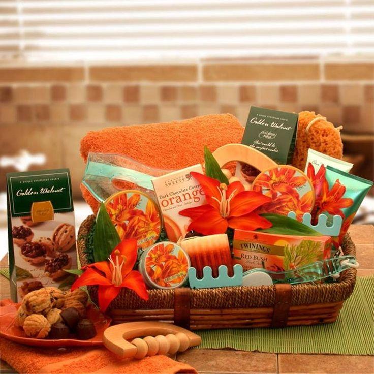 spa gift baskets