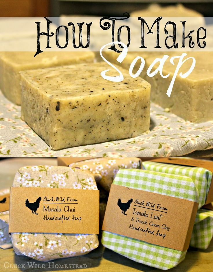 Cluck Wild Homestead: How to Make Soap