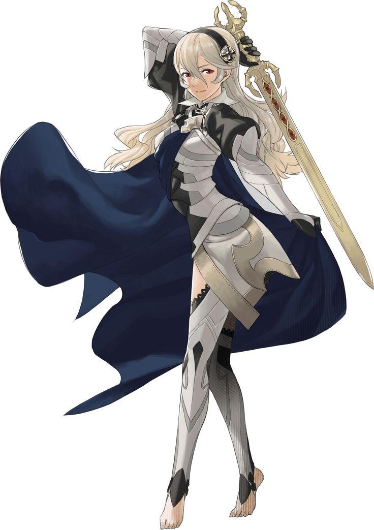 Kamui, female avatar, Fire Emblem If