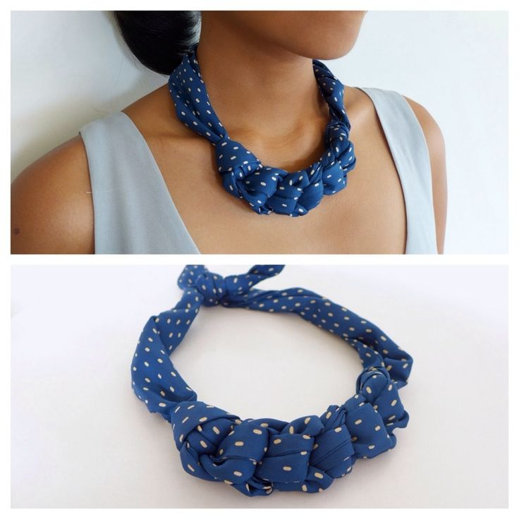 VINTAGE SCARF NECKLACE Sold out
