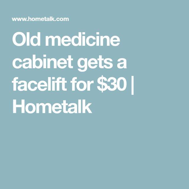 Old medicine cabinet gets a facelift for $30   Hometalk