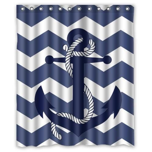 The Best Anchor Shower Curtains You Can Buy - Beachfront Decor
