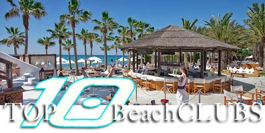 Top 10 Marbella Beach Clubs