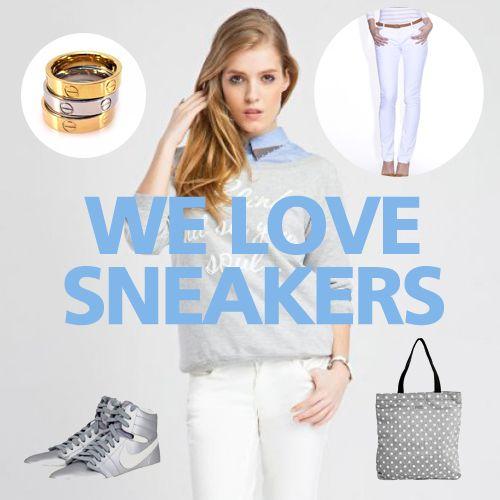 Fashion editor's picks for her - We love sneakers! #fashionpicks #women #fashion #trendsetters