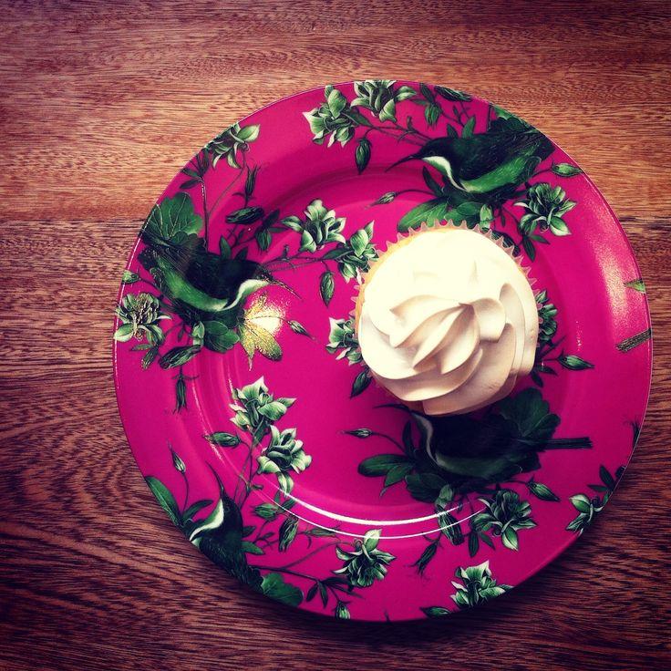 Key Lime Cupcakes, relleno de cremosso pie de limón y merengue.