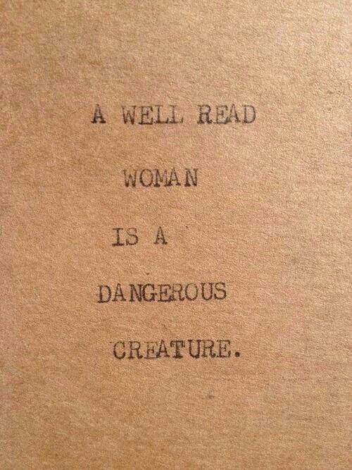 Visit me at www.laurabradbury.com A well read woman...