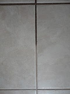 DIY Grout Cleaner: Just use Coke! Squirt some Coca Cola on the dirty grout (use an empty sports drink bottle or similar to squirt) and let sit for about a minute. Using an old toothbrush/grout brush/etc, scrub the grout. After scrubbing, wipe the mess up with paper towel or a rag. Remember to mop the entire area afterwards to prevent your floor from getting sticky!