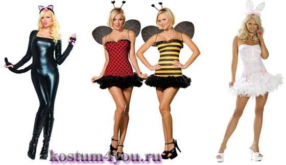 Карнавальные новогодние костюмы для девушек картинки