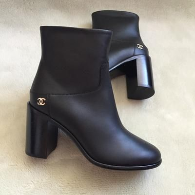 Chanel short ankle boots 2016 NEW 40 | Lollipuff