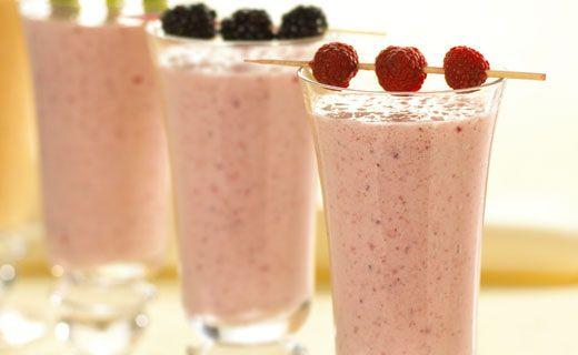 Epicure's Banana-Berry Breakfast Shake