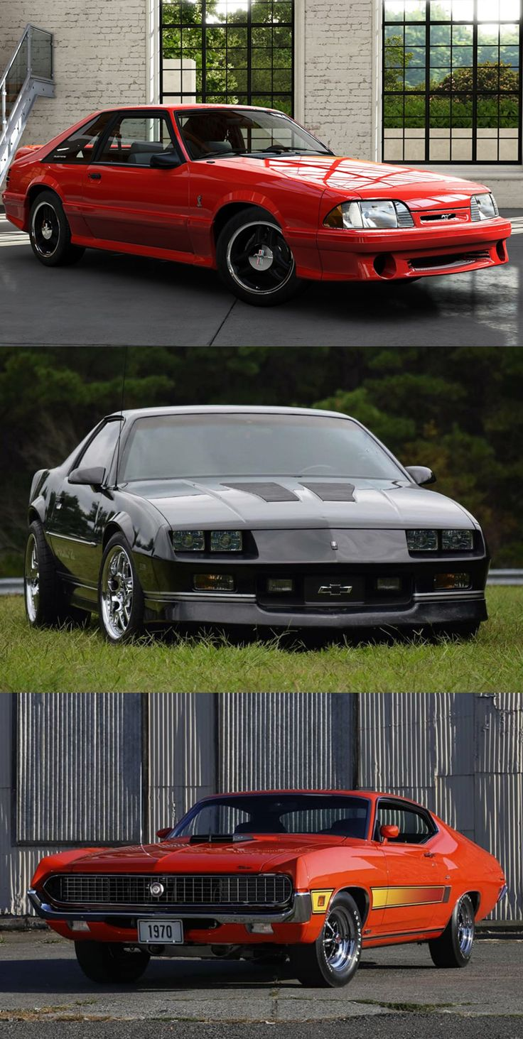 5 Legendary Muscle Cars That You Can Buy Less Than 20k