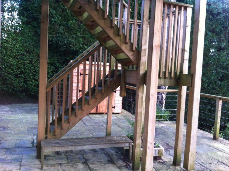 38 best images about garden on pinterest terrace for Terrace steps