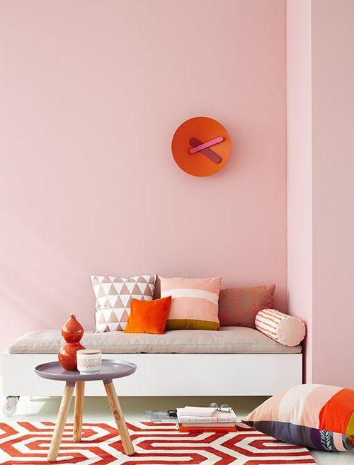 101 Best Murs Colorés Images On Pinterest | Wall Paint Colors