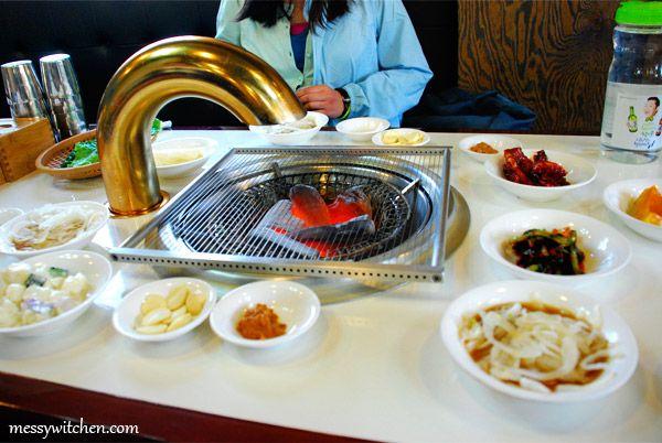 Dinner @ Tam Gung Charcoal Ribs Restaurant, Jeju-do, South Korea