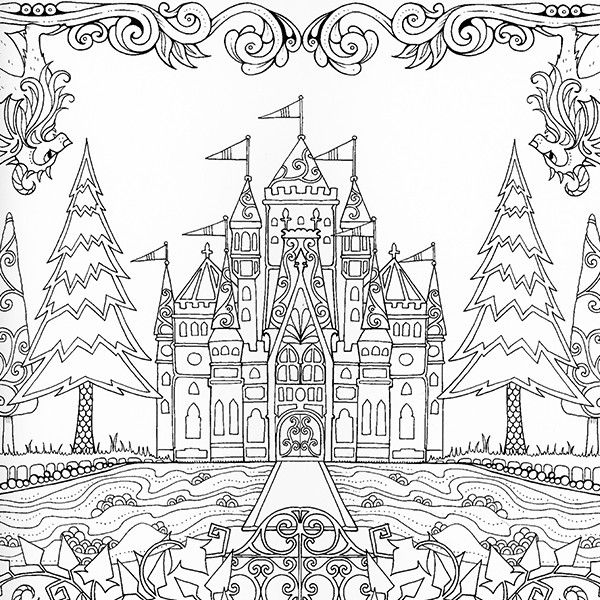 Icolor amazing places johanna basford the enchanted Coloring books for adults johanna basford