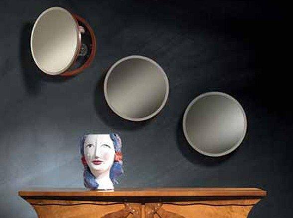 Miroir rond avec rangement OBLÒ by Carpanelli Classic