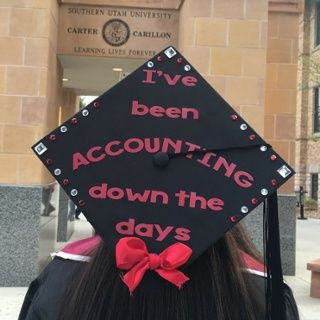 Best 25 graduation picture boards ideas on pinterest for Accounting graduation cap decoration