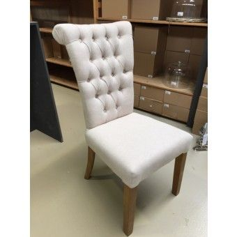 stuhl gepolstert gepolsterter stuhl farbe sand st hle landhaus style m bel chair. Black Bedroom Furniture Sets. Home Design Ideas