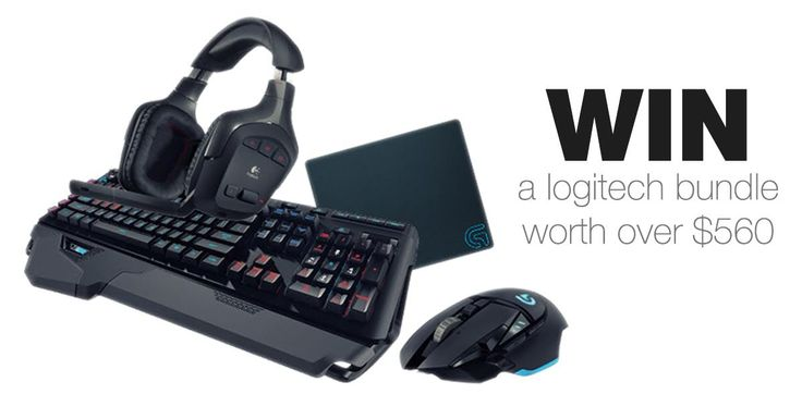 Win A Logitech Wireless Headset, High Tech, Mouse and Keyboard, Worth Over $560