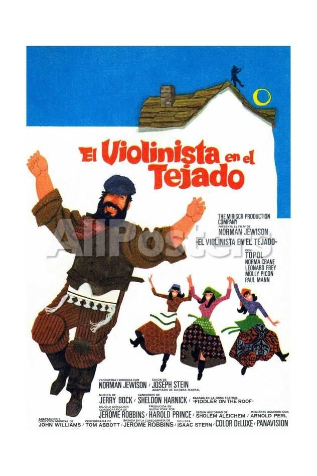 Fiddler On The Roof 1971 Giclee Print Allposters Com Fiddler On The Roof Movie Posters Fiddler
