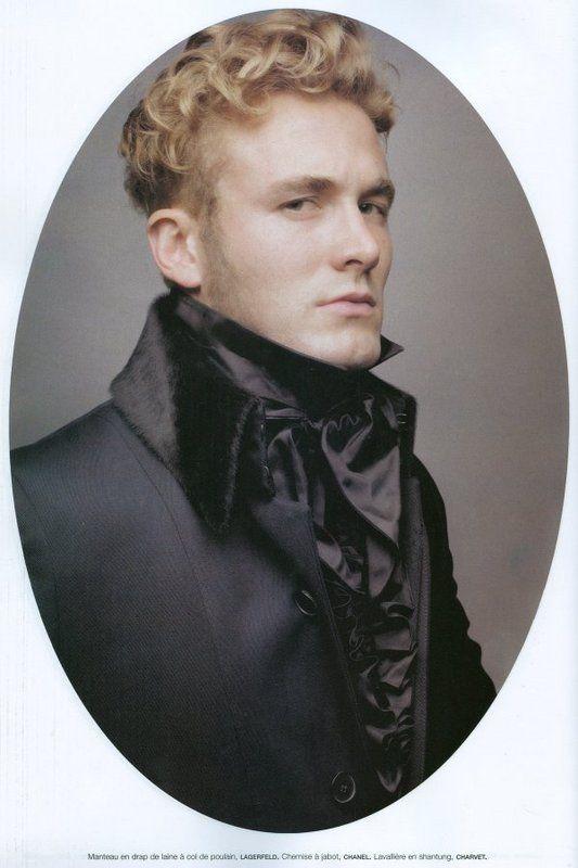 Editorial: The Ultimate Dandies Photographer: Karl Lagerfeld Magazine: Numéro Homme Season: F/W 06