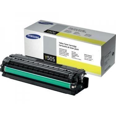 SAMSUNG Cartouche de toner authentique CLT-Y505L/ELS – Jaune – Capacité standard 3.500