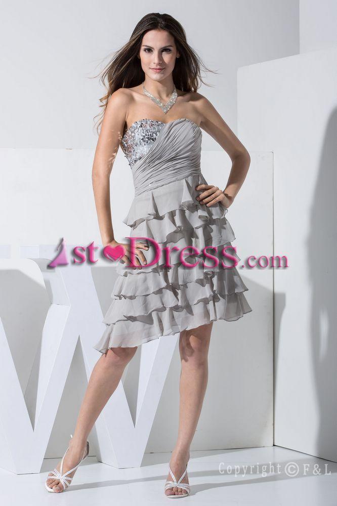 59 best Short Prom Dresses images on Pinterest   Short prom dresses ...