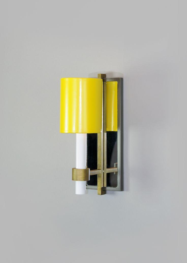 Sloane / Yellow Shade   #jeffreyalanmarks #JAM #homedecor