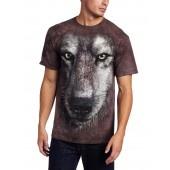Camiseta - The Mountain - Wolf Face jlle1 @jlle1.com