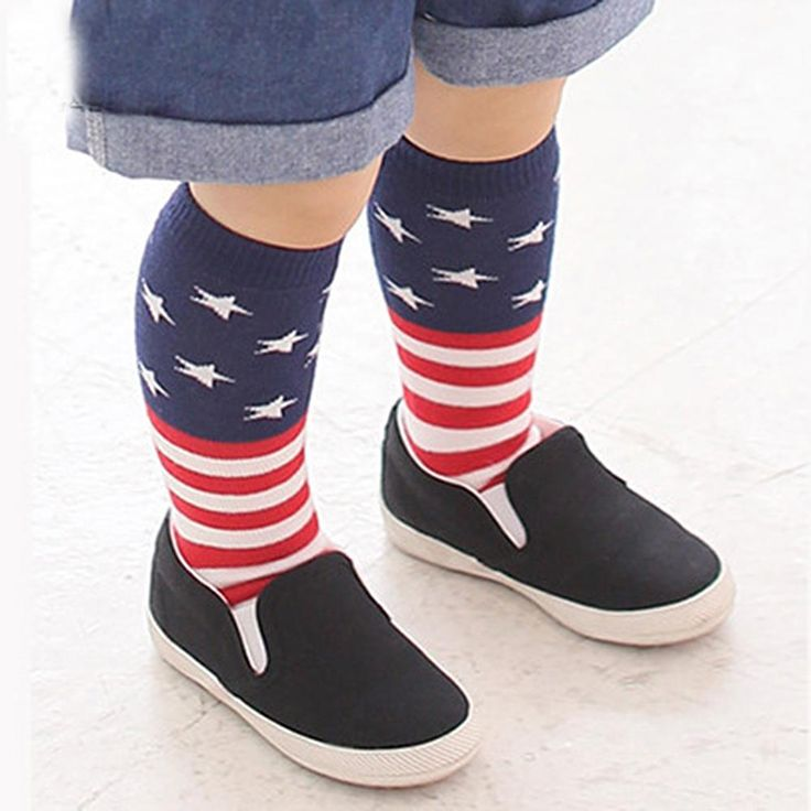 >> Click to Buy << Kids Girls Cotton Striped Tights School High Knee Socks leg Warmer #Affiliate