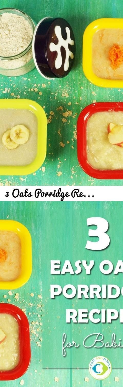 3 Oats Porridge Recipe for babies-First Food by TOTS AND MOMS... Tags: oats, how to make oats, delicious oats, preparing oats, oats for breakfast, best oatmeal, oatsfood, super tasty oats, yummy oats, baby food, food baby, baby food recipes, making baby food, organic baby food, homemade baby food, totsandmoms, how to cook oats for babies, babyfoodrecipes, oats banana recipe, oats apple recipe, OATMEALFORBABY, healthmixforbabies, breakfastforbabies, oats for babies, apple oats porridge…