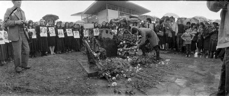 Manifestations in tbilisi near 9 april memorial