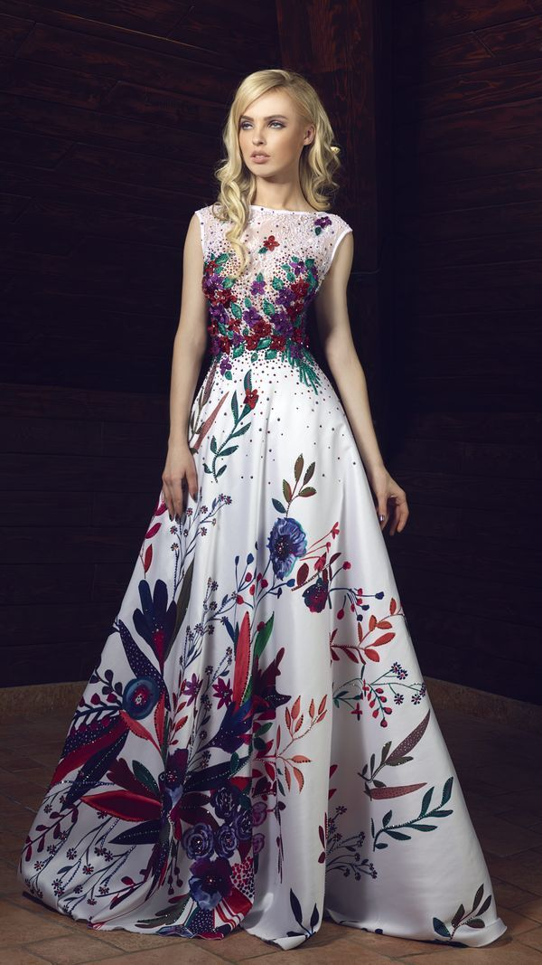 Tony Chaaya Haute Couture Evening Dresses 2017 | Hi Miss Puff - Part 4