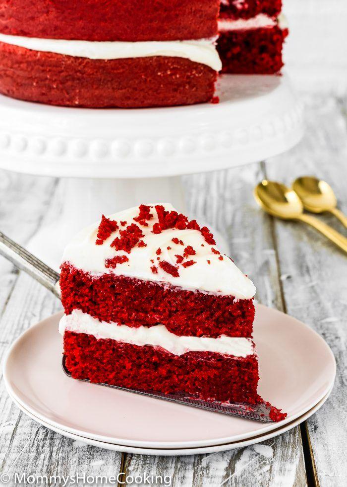 Eggless Red Velvet Cake Recipe Eggless Red Velvet Cake Velvet Cake Cake