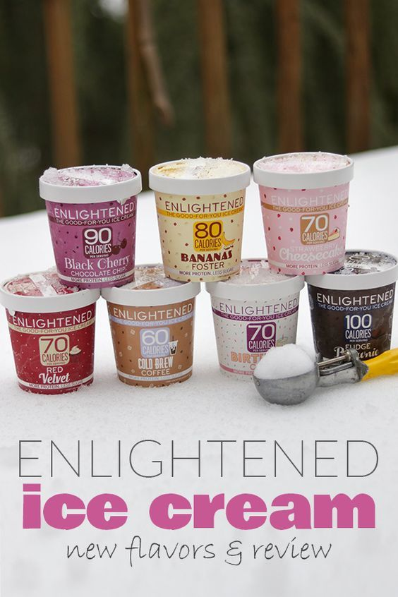 Enlightened Ice Cream - New Flavors + Review | low in sugar, low carb, high protein & fiber - what's not to love about Enlightened?