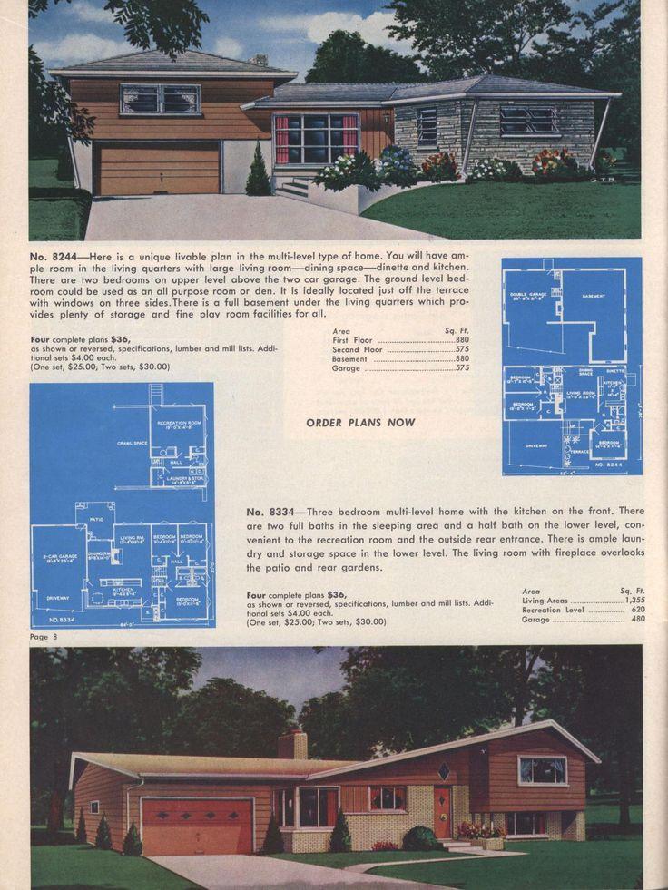 Architektur Im Vintage Stil, Hauspläne, Ferienhäuschen, Architektur