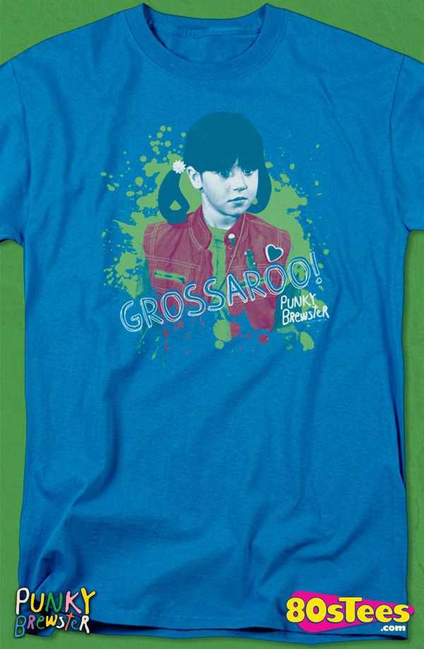 Grossaroo Punky Brewster T-Shirt: Punky Brewster Mens T-Shirt Punky Geeks:  Every day can be special wearing this cool design with great art and illustration.