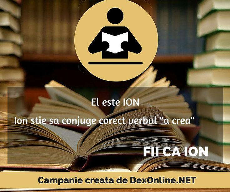 Salvam limba romana impreuna! #salveazalimbaromana #dex #fiicaion http://dexonline.net/