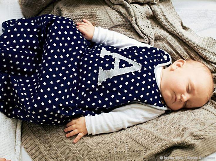 DIY-Anleitung: Babyschlafsack mit verdecktem Nahtreißverschluss nähen via DaWanda.com