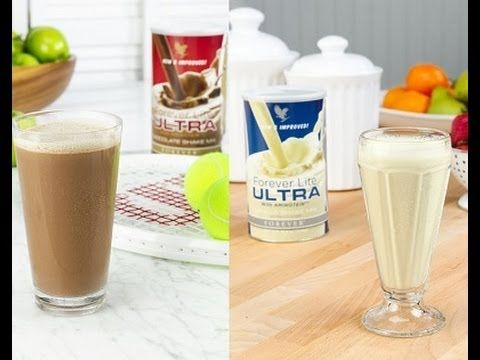 Lose weight or maintain it with Forever Lite Ultra Vanilla & Chocolate