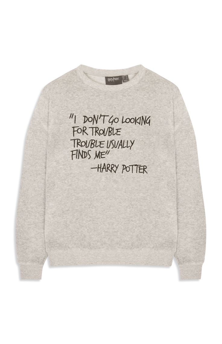 Harry Potter jumper, £13, Primark
