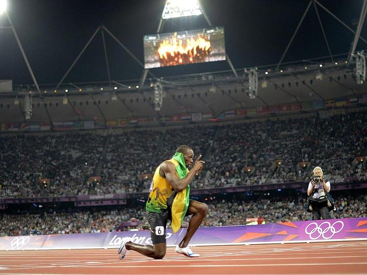 Ussain Bolt.
