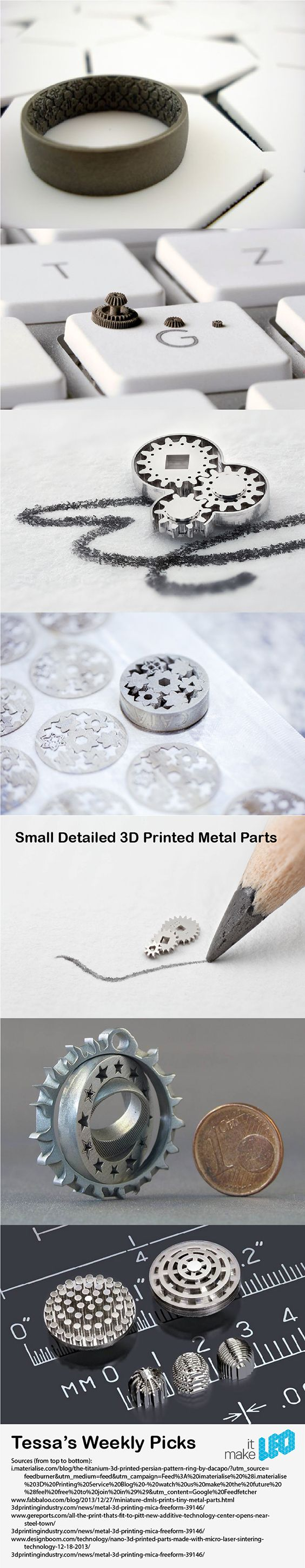 Tessa's Weekly Picks - It's All in the 3D Printed Metal Details